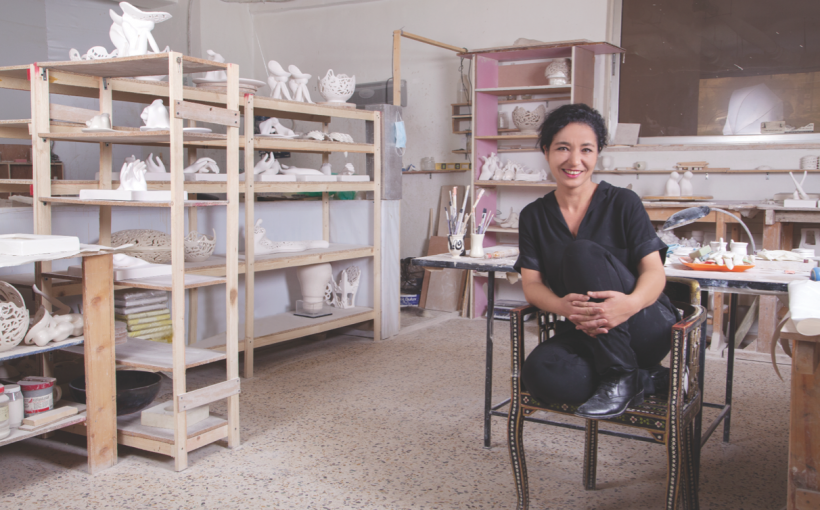 Inside the Artist's Studio: Katia Al Tal
